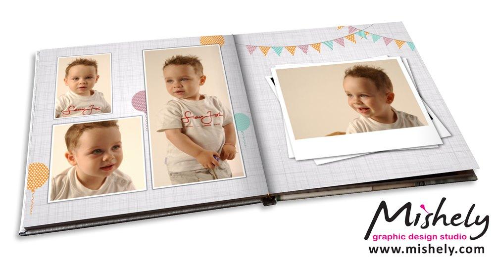 סנסציוני עיצוב אלבום דיגיטלי לילדים, אלבום לגיל שנה החל מ-207 ש JT-09
